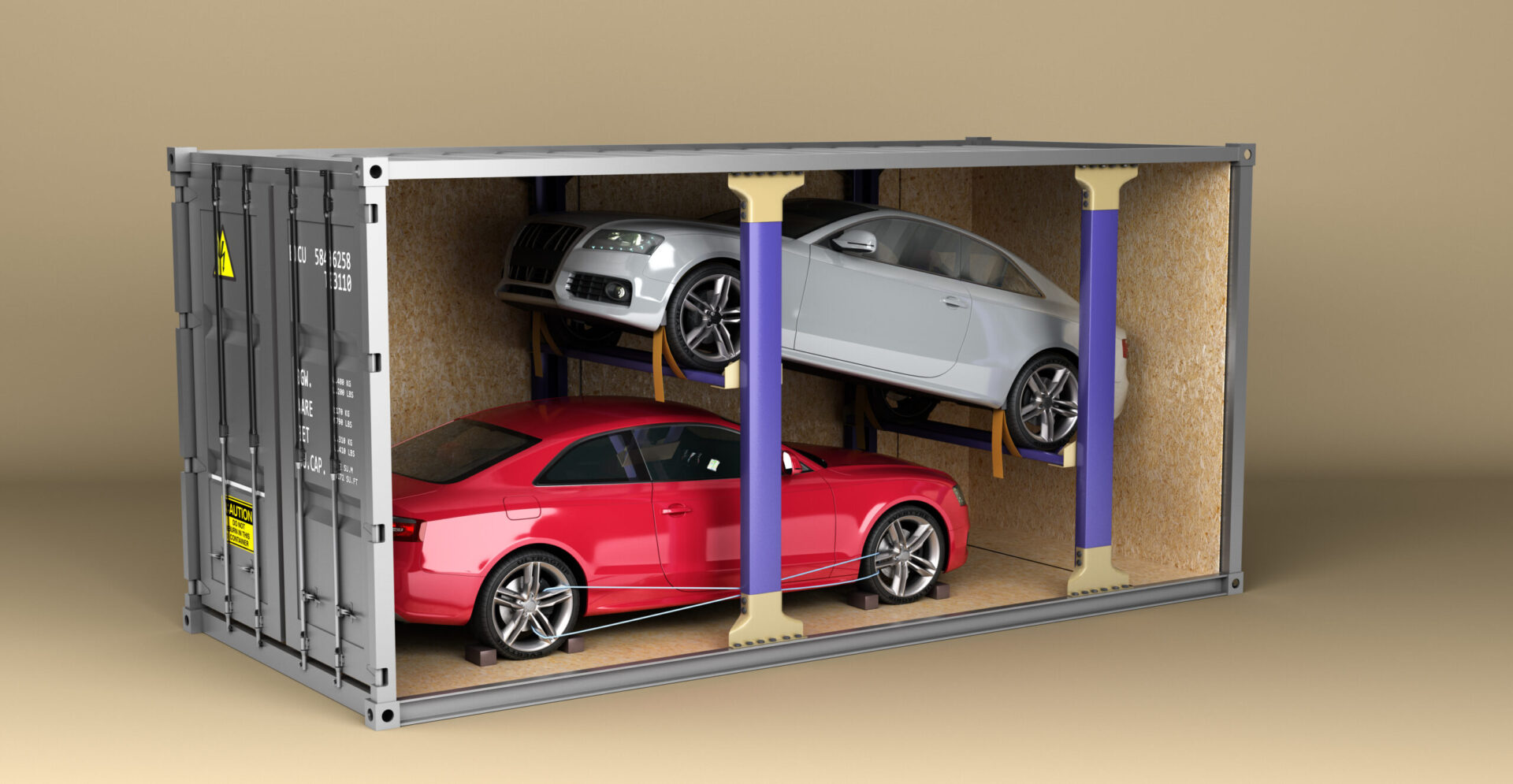 Car shipping from Dubai by container
